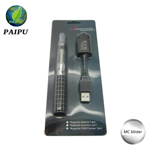 Alibaba express magnetic ecig mod MC Ecig ego -KM magnetic battery Ecig from paipu