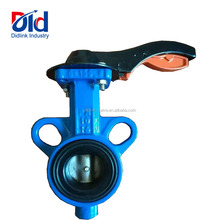 Double Eccentric PN10 PN16 Hand Lever Manual Operated Cast Iron Price List Kitz Butterfly Valve Manufacturer