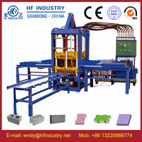 hydraulic brick machine concrete shot blast blocks maker