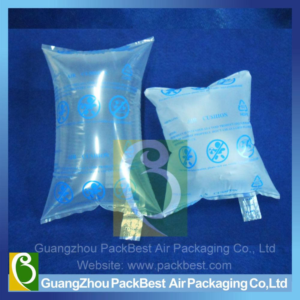 "Durable air cushion bag for blocking and bracing application, available in 8""x8"", 8""x4"""
