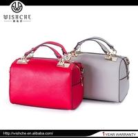 Wishche 2015 Summer New Style Woman Genuine Leather Handbags Shoulder Bag Authentic Designer Handbag Wholesale Factory Bag W2231