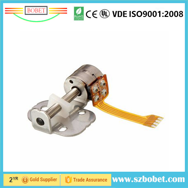 2 phase 4 wireS 3V 6mm stepper motor