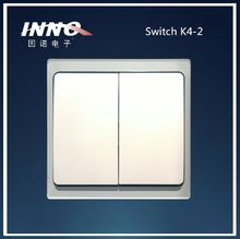 Innovation design 2channel remote control wireless light switch