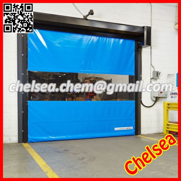 Automatic pvc high speed stacking door