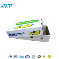 Display packaging box recycled paper fruit and vegetable box distributors