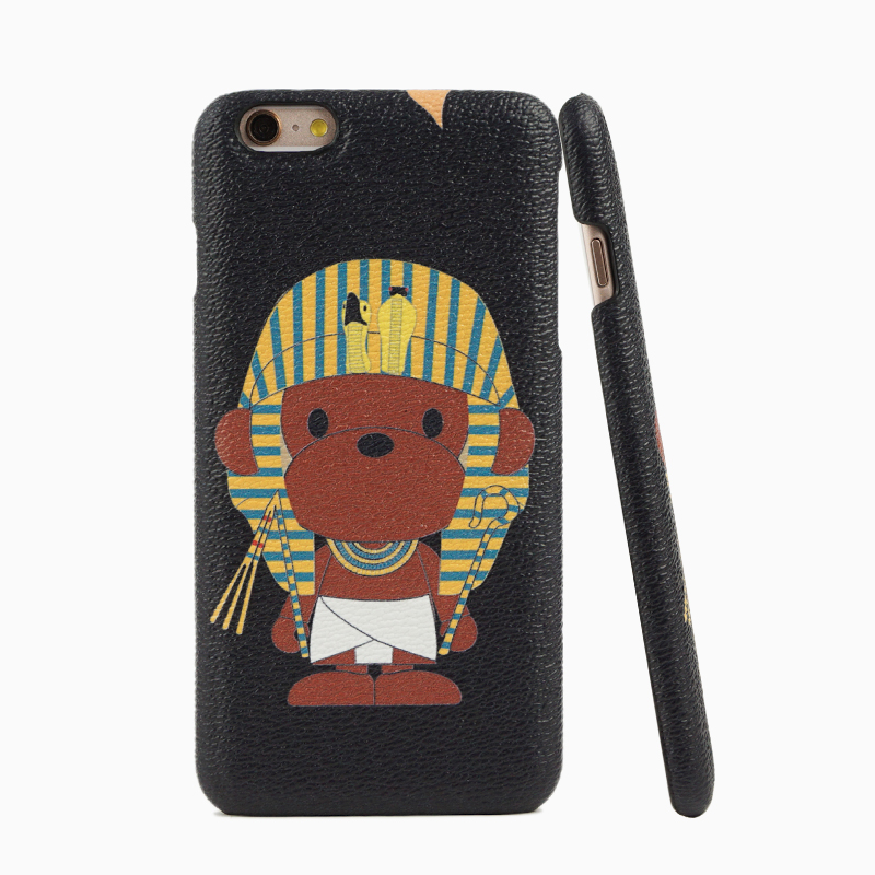 Cartoon mobile phone case genuine leather with ultra thin for iphone 6,for iphone 6 plus
