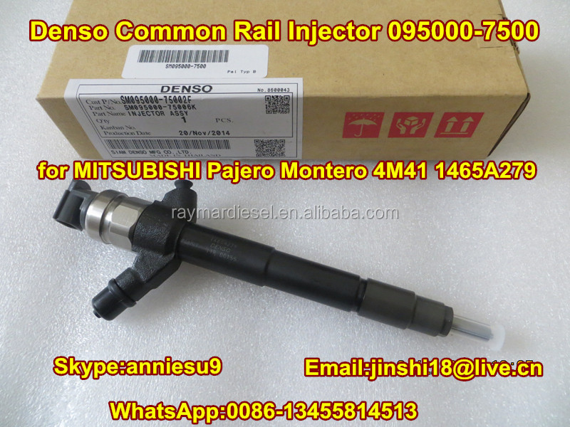 Denso Common Rail Injector 095000-7500 for MITSUBISHI Pajero Montero 4M41 1465A279