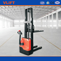 1.5 ton electric narrow aisle stacker with smallest working space needed