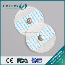 Made in China ISO certificated round disposable ecg electrodes manufacturers