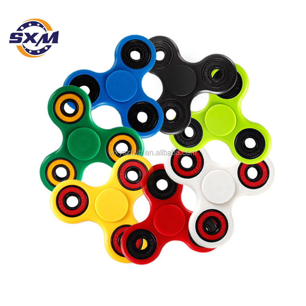 ABS Strong Material 608 Ball Bearing Fidget Spinner Hand Spinner Fidget Toy to Relieve Stress
