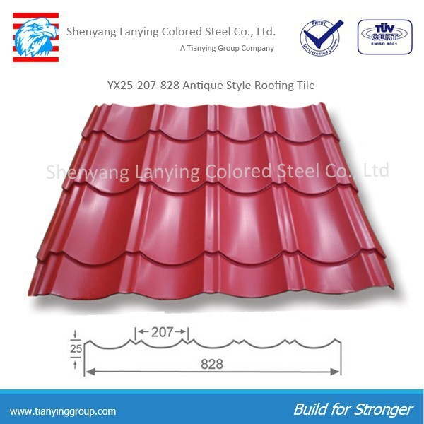 metal roofing sheet color sheet
