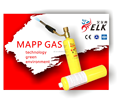 MAPP Gas high temperature brazing gas