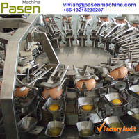 Automatic Stainless Steel Egg Breaking Separating Machine to Get Egg White and Egg Yolk