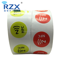 Passive 13.56MHz RFID NFC tag/label/sticker from Alibaba factory