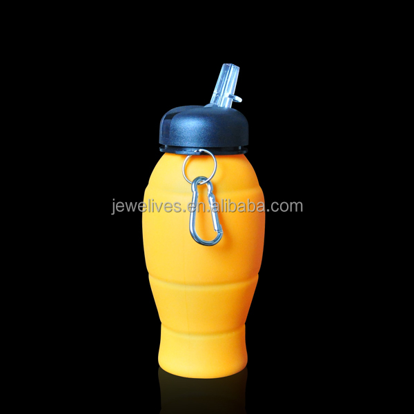 20oz foodgrade water bottle with tap for outdoor camping hiking