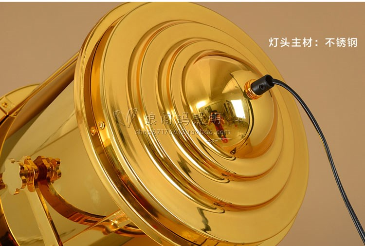 loft industrie hardware segeln suchstehleuchte papier lampenschirme f r boden lampen moderne. Black Bedroom Furniture Sets. Home Design Ideas
