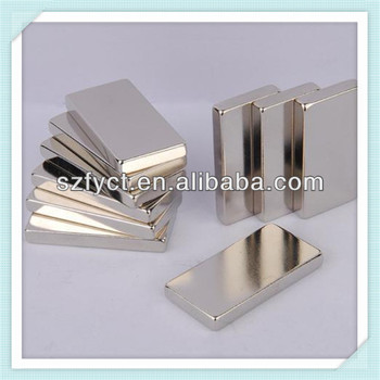 Permanent Type N52 Neodymium Magnet with Block shape