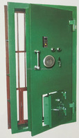 Metal steel bank security safe vault doors for sale