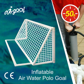 3m*0.9m Air Water Polo Goal for Adult Games