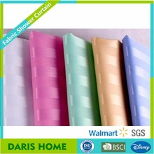 Hotel Eco-Friendly Dobby Shower Curtain Supplier, Classical Jacquard Shower Curtain Stripe Latest