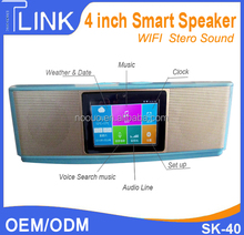 4 inch 2*8W Wireless Bluetooth Speaker with usb input BT speaker music player smart speaker