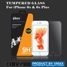 Hot selling 0.2mm anti glare tempered glass screen protector for iphone 6s plus mobile phone