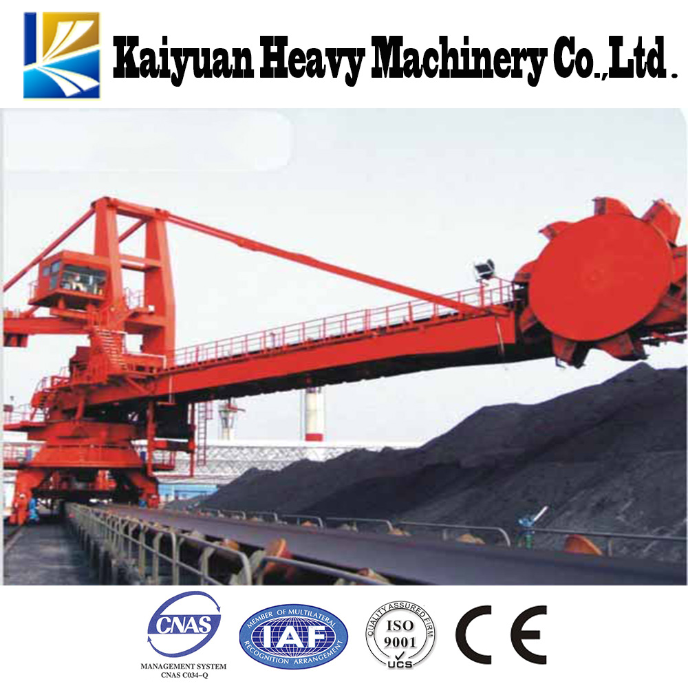 Hot Sale150t Circular Bucket Wheel Stacker&Reclaimer used for bulk cargo wharf and steel mills