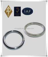metal o ring gasket/ss304, ss316, soft iron