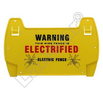 Danger Sign Warning Sign for Electric fence Polypropylene UV