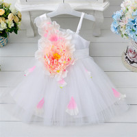 2016 China Alibaba wholesale summer fancy party wear dresses for girls of 2-6 years