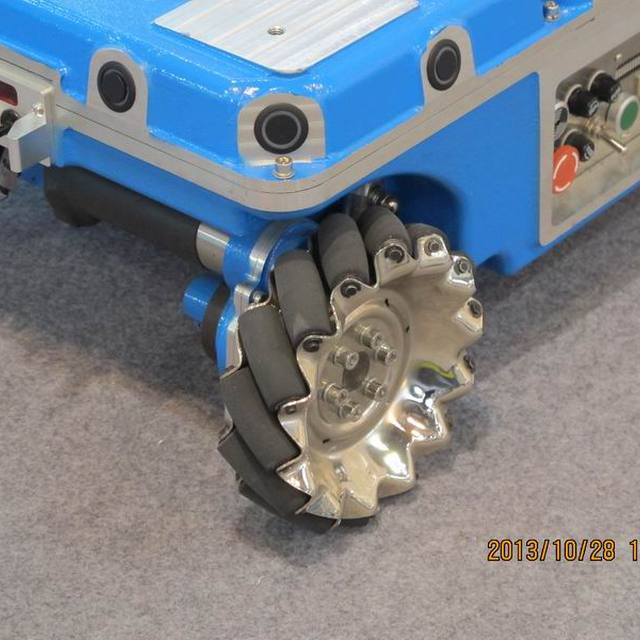 coreless DC servo motor easily moved Electric Aluminum omni wheel cargo transfer vehicle