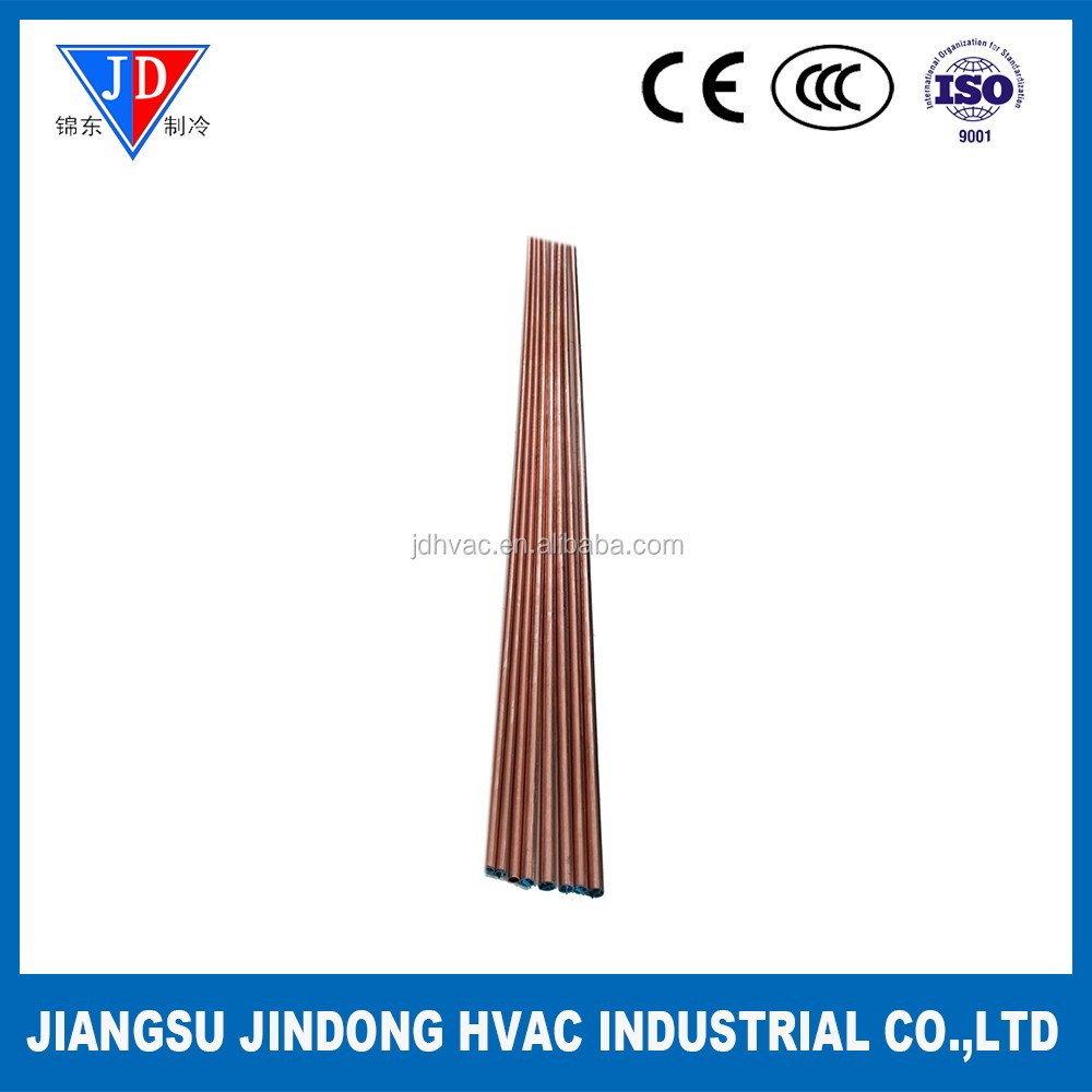 Straight Copper Tube in Hard Condition for Air Conditioning and Refrigeration