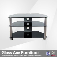 Chinese Living Room Furniture Tempered Glass Lifting TV Stand