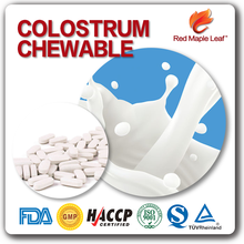 Health Supplements Boost immunity Blister Packs Colostrum Chewable Tablets