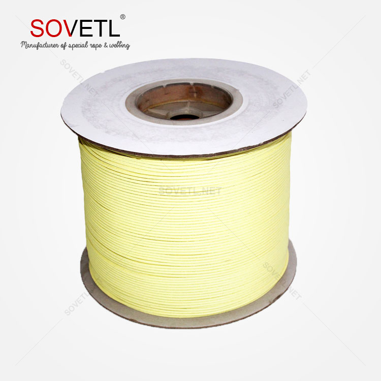 Safety Rescue Fire Retardant 6mm Aramid fiber rope