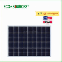 USA Stock 100W Watts Solar Panel Poly 12V Volt PV Polycrystalline Off Grid for RV boat free shipping
