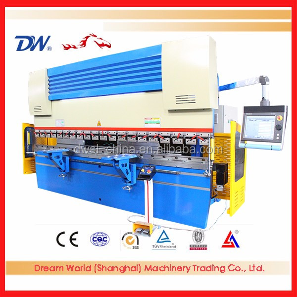 Economical Nc Braker, Series Wc67k Nc Hydraulic Press Brake, Plate Bending Machine