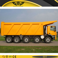 16 wheels off road tipper trucks with Euro brand