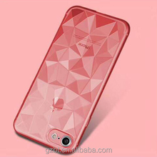 Luxury Diamond Crystal soft TPU Plating Phone Case For iPhone 5 6 6plus