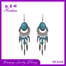 WQ jewelry silver models cheap fashion jewelry made in china gemstone earring