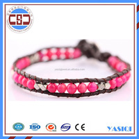 New arrival high quality bracelet watch accessories woven bead jewelry jade beads seed bead friendship bracelet for sex women