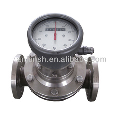 Oval Gear Positive Displacement type Crude Oil Flowmeter mechanical type