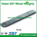adhesive wheel weight for chrome wheels for cars