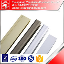 Aluminium structural profile, section and T bar