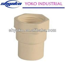 2014 China high quality CPVC pipe fittings Plastic Tubes gold industrial barbell