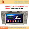 8 inch car 2 din dvd player for toyota camry