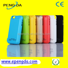best sell golden 4200mah for iphone 5 battery case,rechargeable battery case for iphone 5 4200mah power bank case