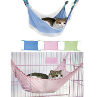 Shenzhen Factroy Cheap Price Mesh Cloth Breathable Best Cat Hammock Dog Hammock Pet Hammock Bed For Outside