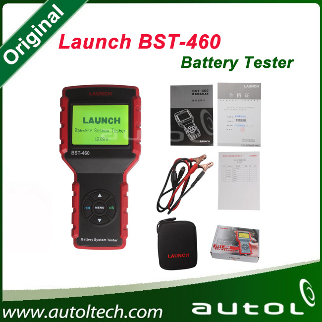 Support Most of cars BST-460 Battery System Tester Asian Version bst460 Tester with Multi-language Launch BST-460 Battery Tester