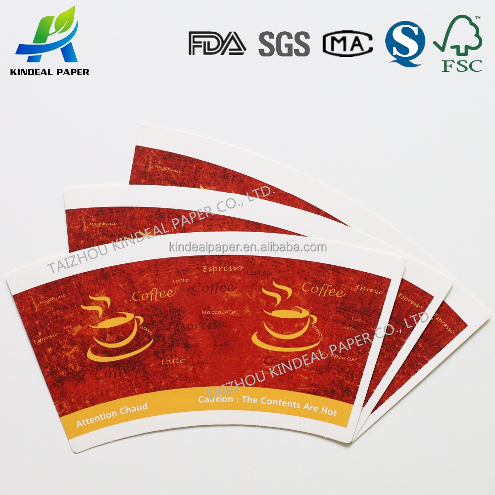 Single PE Coated Raw Materials For Paper Cups